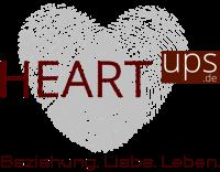 Logo von HEARTups - Schriftzug Beziehungstipps und Eheberatung - Anonym, Kostenlos, Unverbindlich