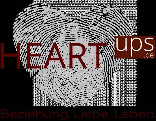 HEARTups Beziehungstipps und Eheberatung Logo für mehr Liebe und Treue in Paarbeziehungen und Ehe