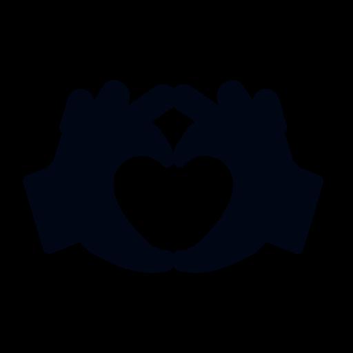 2 Hände formen Herz und lieben sich durch Beziehungstipps noch mehr als zuvor